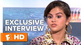 "Selena Gomez Thinks Her Speaking Voice Sounds ""Weird"" | UNCUT Hotel Transylvania 3 Cast Interview"