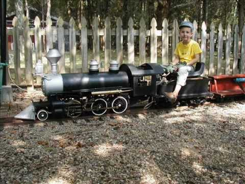 live steam model train railroad locomotive track 7.5 & gauge 1.5 &  scale miniature