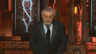Robert De Niro uses profanity to denounce Trump at Tony Awards