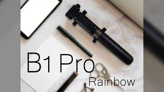 Rainbow B1 Pro 360°旋轉藍芽自拍腳架 Rainbow彩虹全球Rainbow行動電源 小R