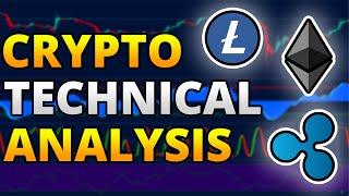 Crypto Technical Analysis: Ethereum, Litecoin, Ripple Price Prediction - Crypto Trading Strategy