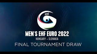 Draw |Men's EHF EURO 2022 Final Tournament