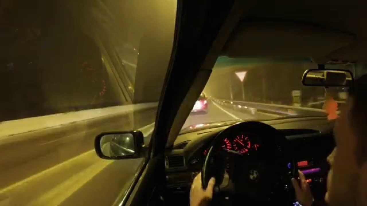 Bmw E38 Night Driving Zippo Небо что в переди А че