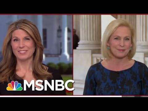 Gillibrand: Trump's lying To The People, He's Someone Who Doesn't Value Women | Deadline | MSNBC