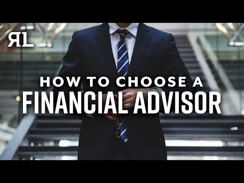 How to Choose The Best Financial Advisor