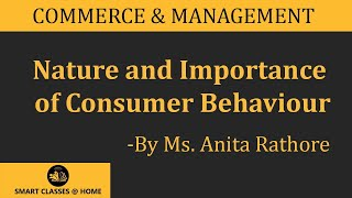 Nature and Importance of Consumer Behaviour(BBA, MBA)