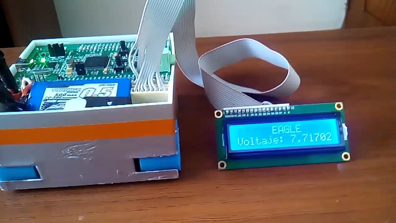 Módulo LCD 16x2 & STM32F4 DISCOVERY  Con RTOS CMSIS