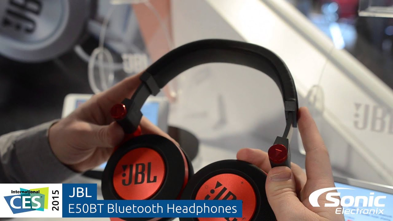 jbl e50 bluetooth headphones ces 2015 youtube. Black Bedroom Furniture Sets. Home Design Ideas
