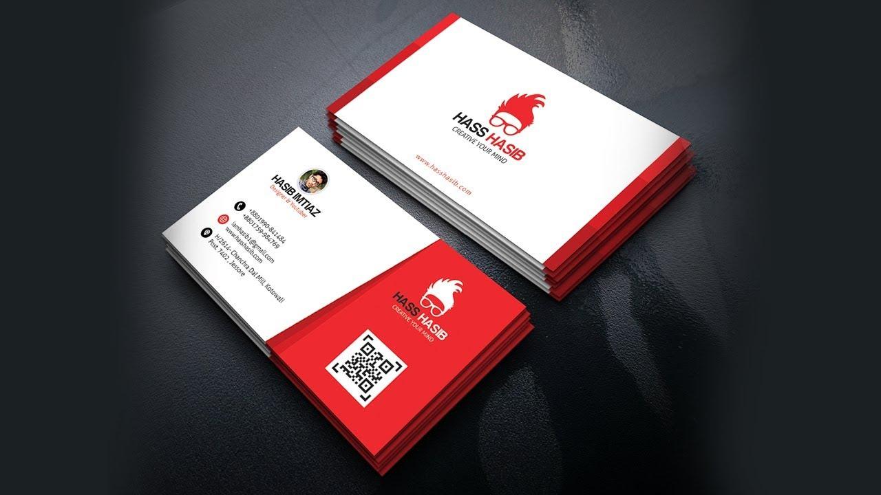 Create a print ready business card design in photoshop youtube create a print ready business card design in photoshop reheart Gallery