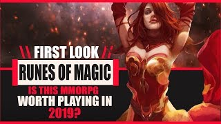 Here's One You Probably Haven't Tried Before.. Runes Of Magic - Is It Worth Playing In 2019?