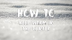How To Keep Warm In The Winter In an RV Without Electricity!