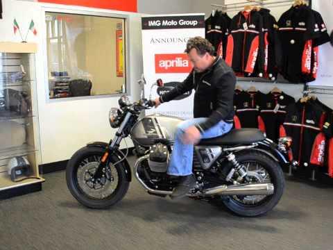 Moto Guzzi V7 Special - Harrison Eurosports - YouTube