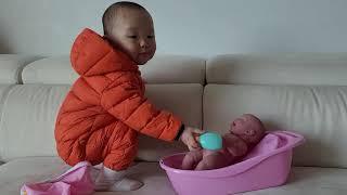 베렝구어 라뉴본 목욕놀이 장난감 -(아가!아가!)