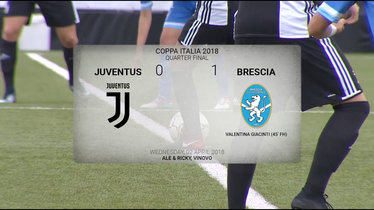 HIGHLIGHTS: Coppa Italia | Juventus Women vs Brescia 0-1