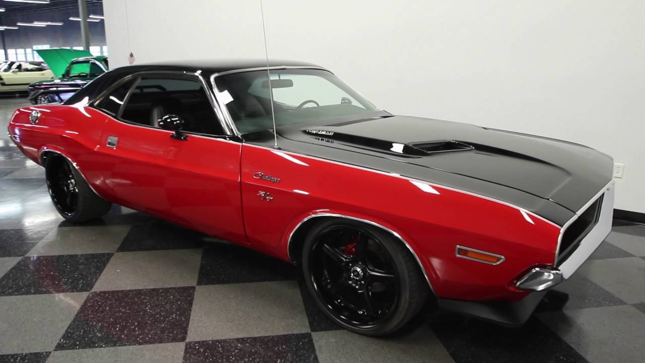 433 Tpa 1970 Dodge Challenger Rt Restomod Youtube