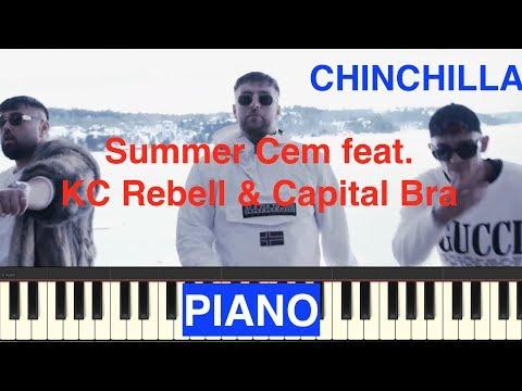 CHINCHILLA Summer Cem ft. KC Rebell & Capital Bra Piano Cover
