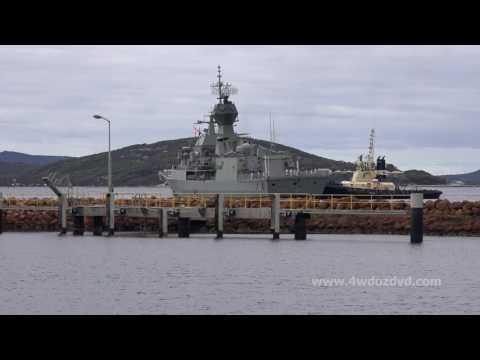 HMAS Anzac visits Albany, Western Australia March 2017