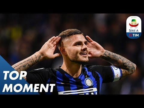 Icardi Header Wins It For Inter | Inter Milan 1-0 AC Milan | Serie A