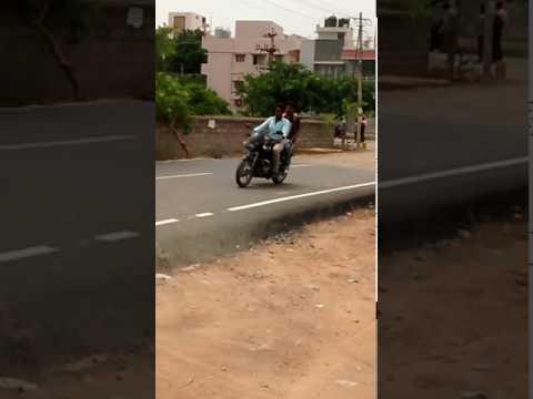 Bahubali hero Prabhas in Bangalore street