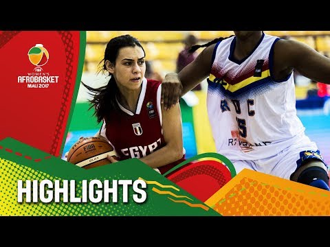 DR Congo v Egypt - Highlights - FIBA Women's AfroBasket 2017