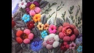 ОБЪЕМНАЯ  ВЫШИВКА  ШЕРСТЬЮ  -- ШКОЛА  РУКОДЕЛИЯ Татьяны Шелиповой