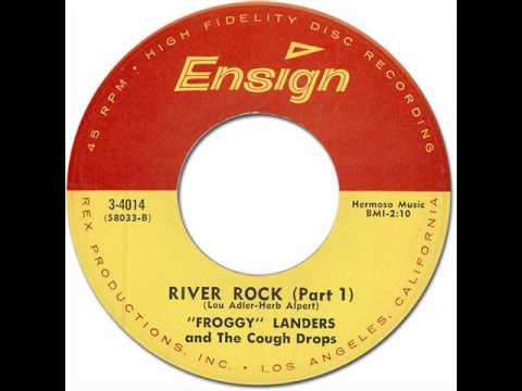 """BOB """"FROGGY"""" LANDERS & THE COUGH DROPS □ RIVER ROCK / Part.2 ..."""