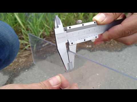 Поликарбонатное стекло - crush test