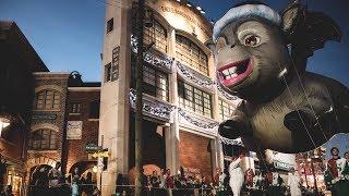 Harry Potter Christmas at Universal and Macys Holiday Parade