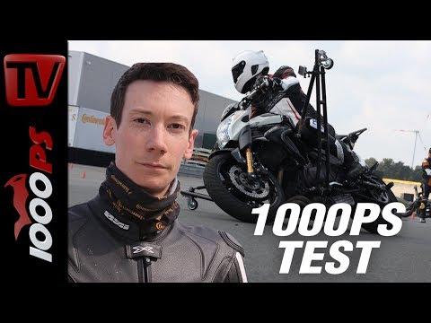 1000PS Test: Vollgas bei der ContiRidingSchool! Schräglagetraining, Gefahrenbremsung und vieles mehr