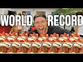 Most Churros Eaten In One Minute (World Record)
