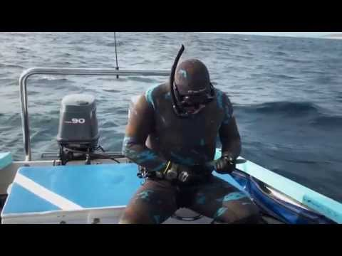 PescaSub Rob Allen - Spearfishing with Rob Allen and ITZTV