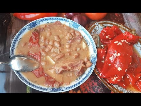 Bakina kuhinja- sjajan pasulj bez zaprške (beans without frying)