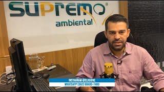 No Programa de hoje CEO da SUPREMO Ambiental Elio jove deu orientações sobre Outorga de Uso da Água.
