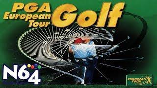 PGA European Tour Golf - Nintendo 64 Review - Ultra HDMI - HD