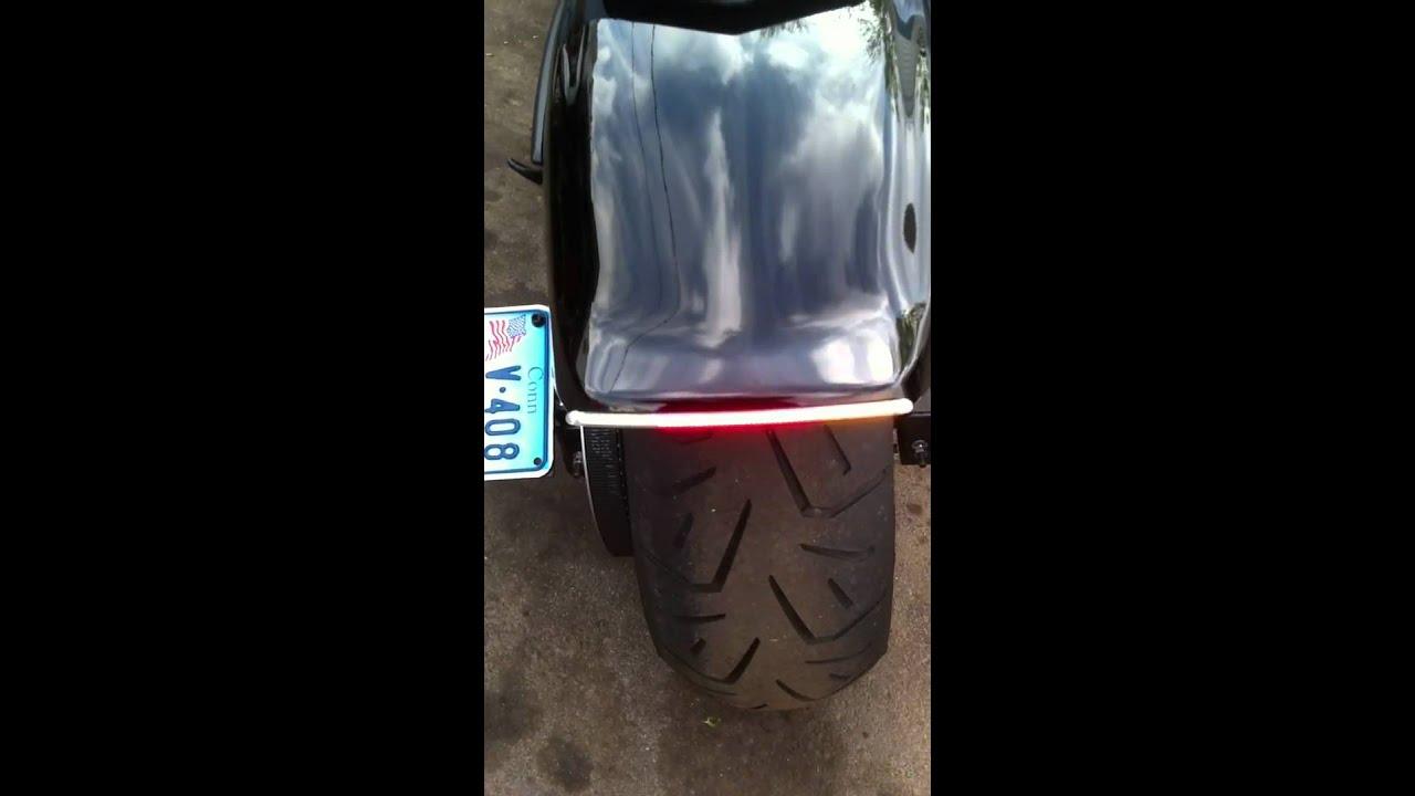 2011 Yamaha Stryker Raven With Intergrated Brake Lights