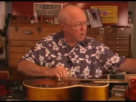 changing acoustic guitar strings youtube. Black Bedroom Furniture Sets. Home Design Ideas