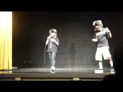Mecca and Damon (Madison No. 1 Middle School Talent Show)