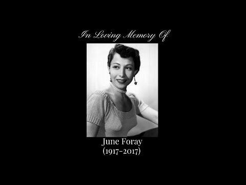 Remembering June Foray (1917-2017)
