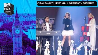 Clean Bandit Perform With Zara Larsson, Julia Michaels and Anne-Marie | MTV EMAs 2017