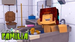Minecraft Familia #07 - AUTHENTIC PRECISA TOMAR BANHO !!