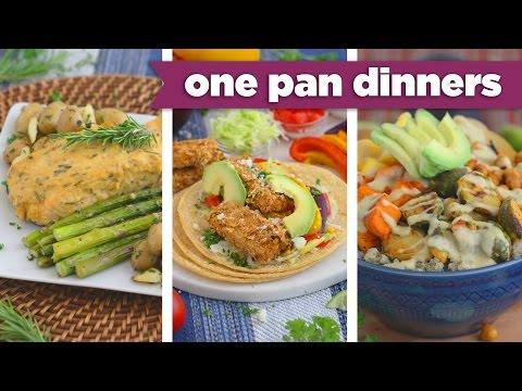 ONE PAN Healthy Sheet Pan Dinners! - Mind Over Munch
