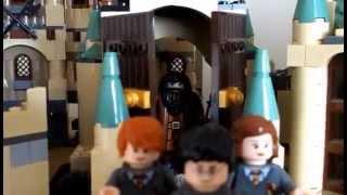 New Custom Lego Harry Potter Hogwarts Castle!!