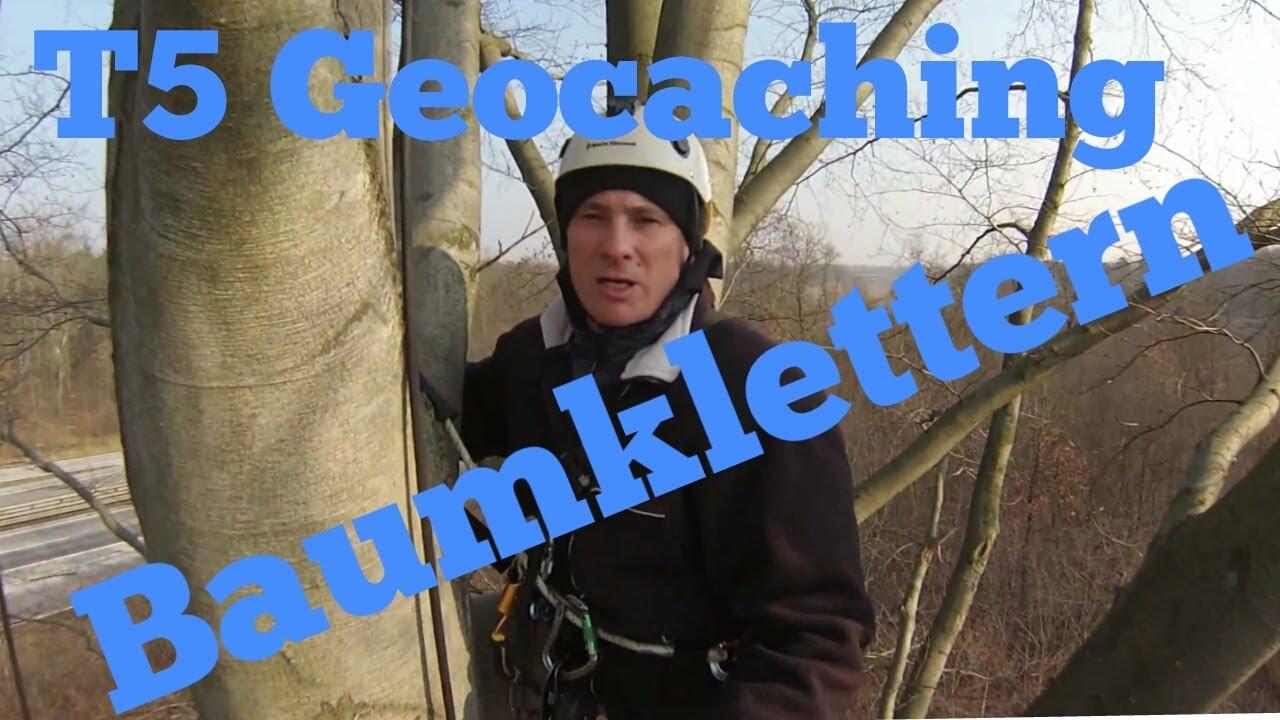 Kletterausrüstung T5 : T geocaching baumklettern youtube