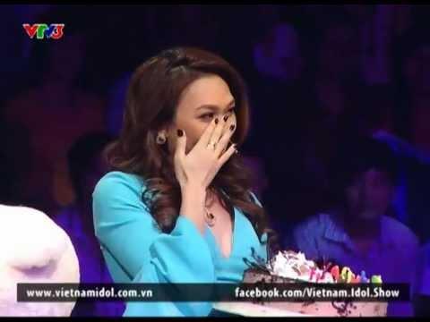 Vietnam Idol 2012 chúc mừng sinh nhật Mỹ Tâm (HQ)