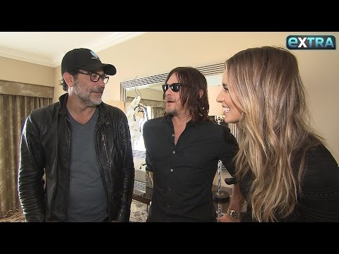 Norman Reedus & Jeffrey Dean Morgan on The Shocking 'Walking Dead' Season 7 Premiere