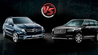 "Volvo Xc90 Vs Mercedes Gle. ""2 Лошадиные Силы""."