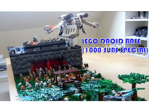 2015 lego star wars droid base 1000 subscribers special youtube - Lego star wars base droide ...