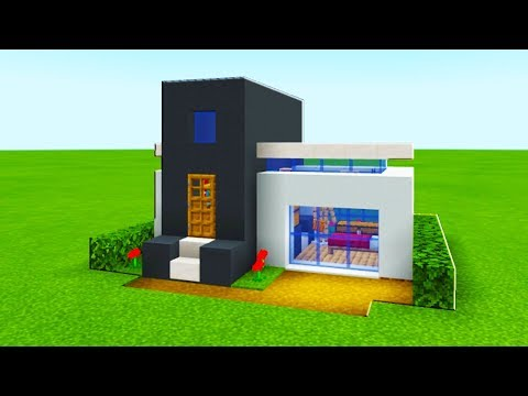 minecraft-tutorial:-how-to-make-the-easiest-modern-house-ever-made-2