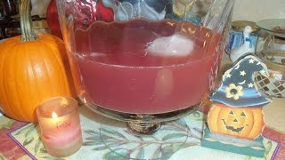 Cooking With Kenshin1913: Halloween Punch