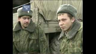 Бои на окраине Грозного ...  Война в разгаре, январь, 2000 г.  Репортаж